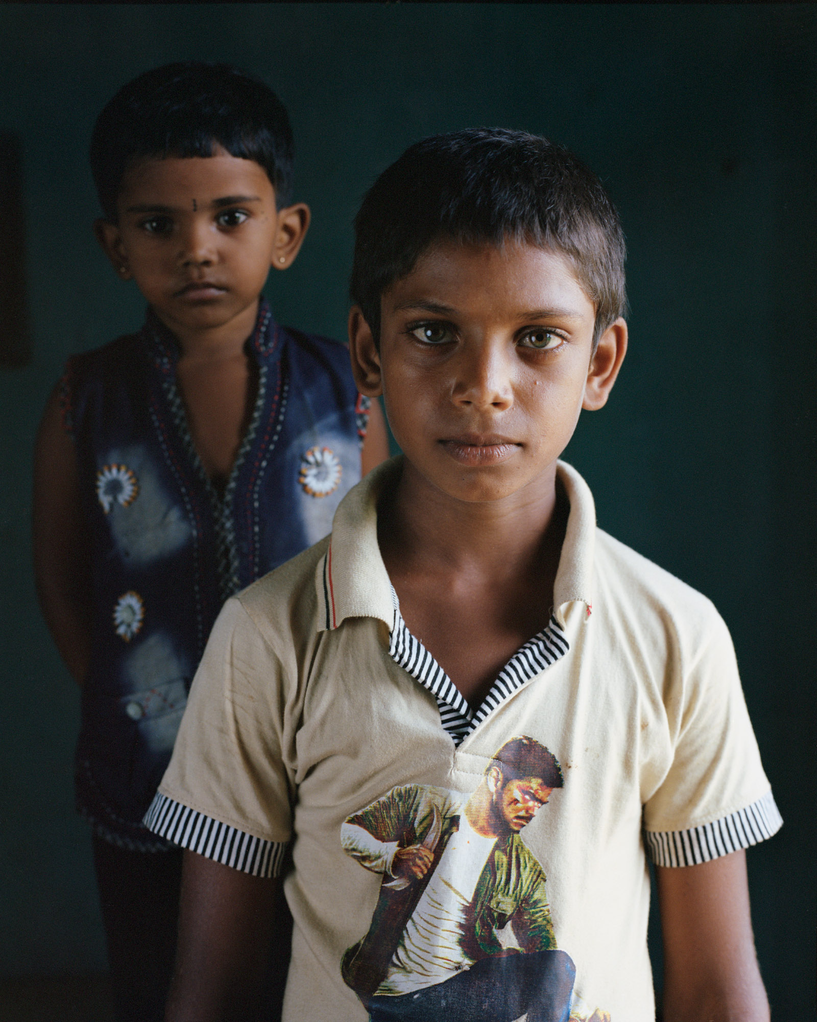 Tamil children, a new generation growing up without war. The future is unpredictable for them.